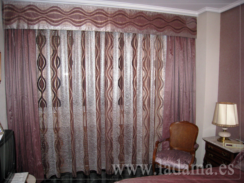 Fotograf as de cortinas cl sicas la dama decoraci n for Cortinas clasicas elegantes