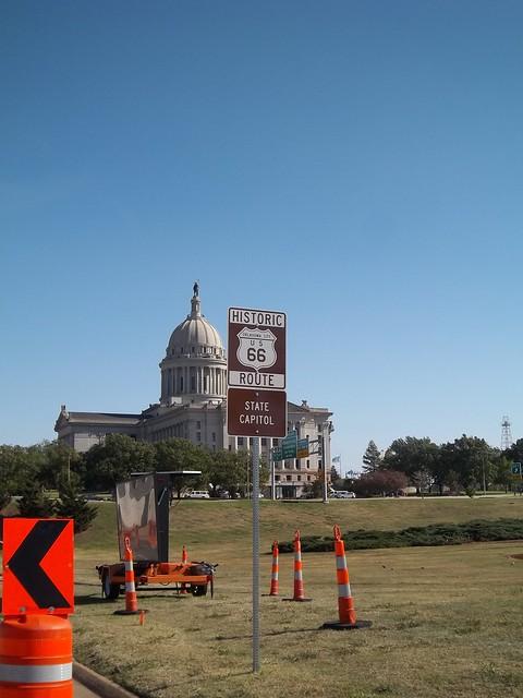 Route 66 Landmark Oklahoma State Captiol Flickr Photo