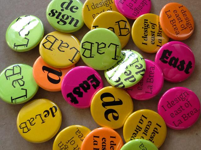 de LaB buttons