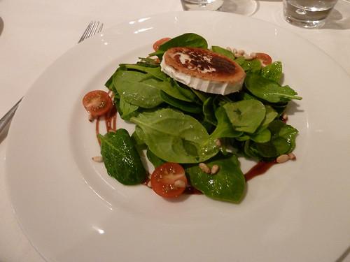 Zaragoza | La Scala | Ensalada con queso