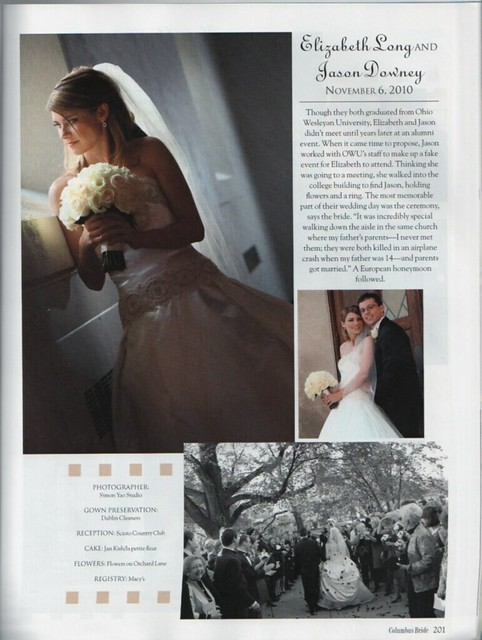Long Wedding Feature CB F2011