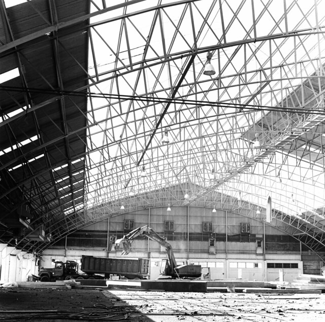 Loyola Fieldhouse Demolition - 1987