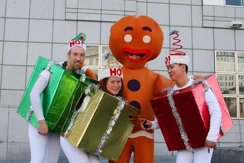Christmas Gingerbread Man and Friends