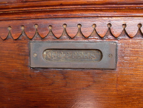Turn of the Century Mail Slot