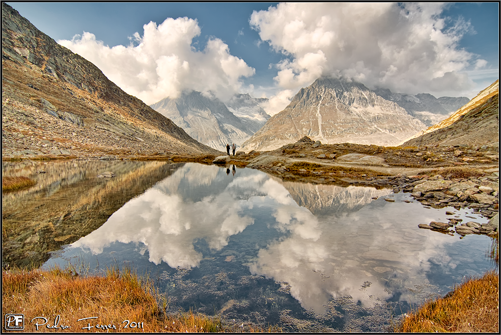 Suiza - Las montañas - Lago Marjelensee