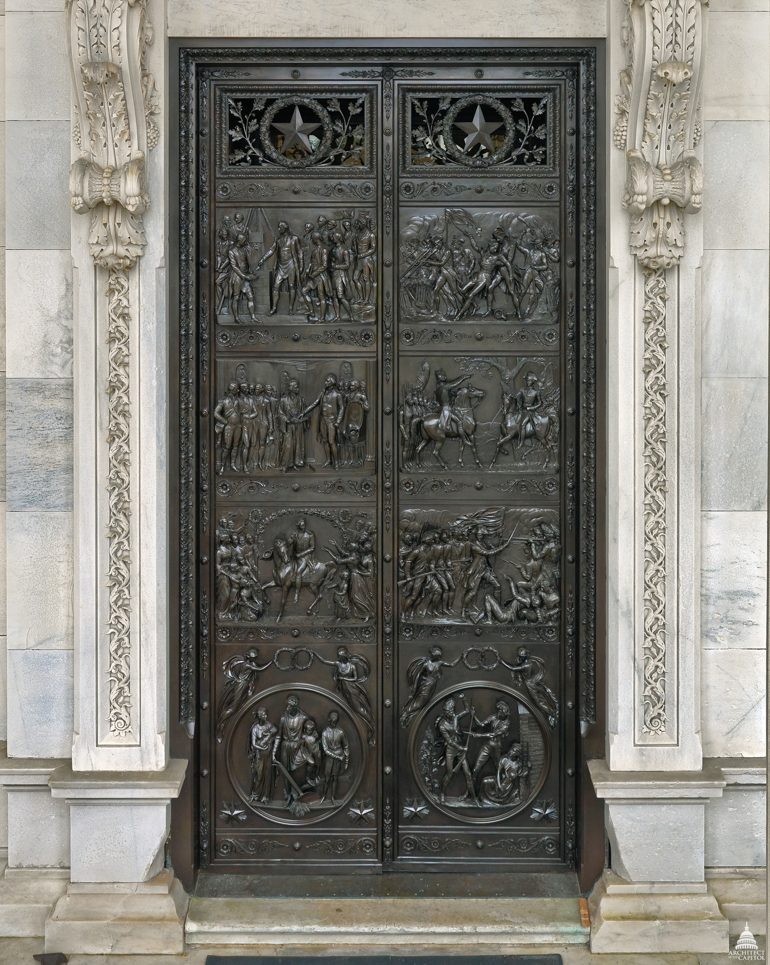 DOWNLOAD & Senate Bronze Doors | Architect of the Capitol | United States Capitol Pezcame.Com