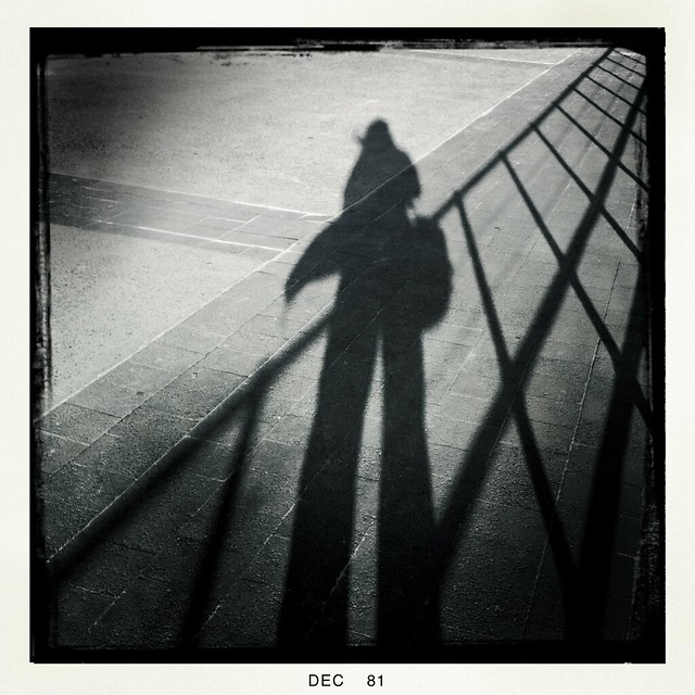 My shadow Bondi Beach