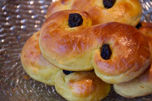 Safranisaiad / Saffron buns / Lucia buns / Lussekatter / Lussebollar
