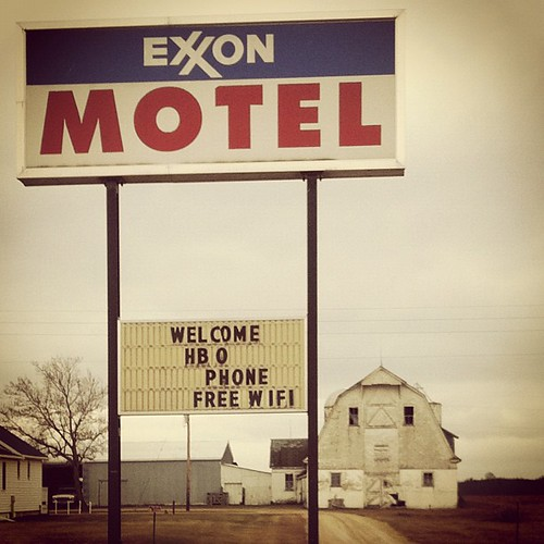 Exxon's in the hotel business