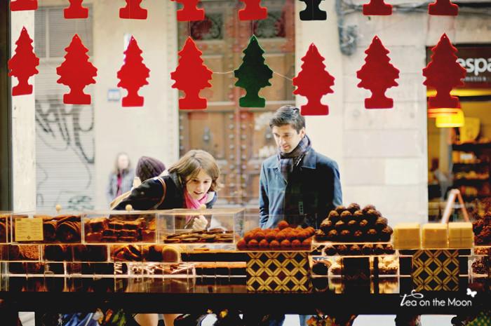 Escaparate Barcelona Navidad 4