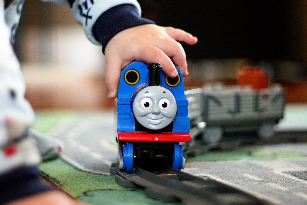 A Boy & His Trains