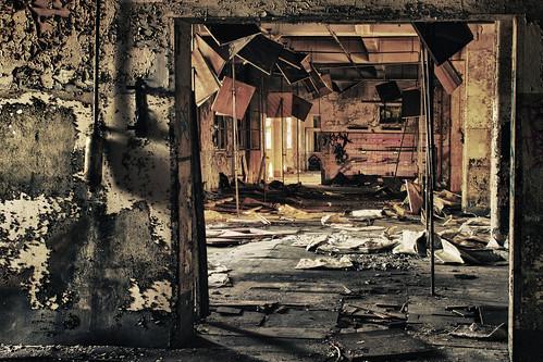 無料写真素材, 建築物・町並み, 施設, 廃墟