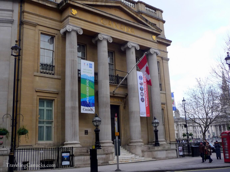 Canada Building, London
