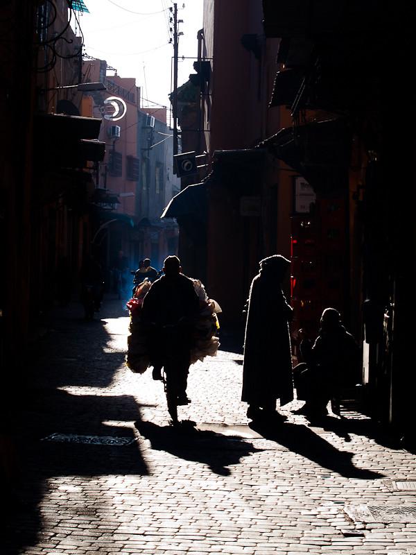 Maroc 2011 - Ruelle à Marrakech