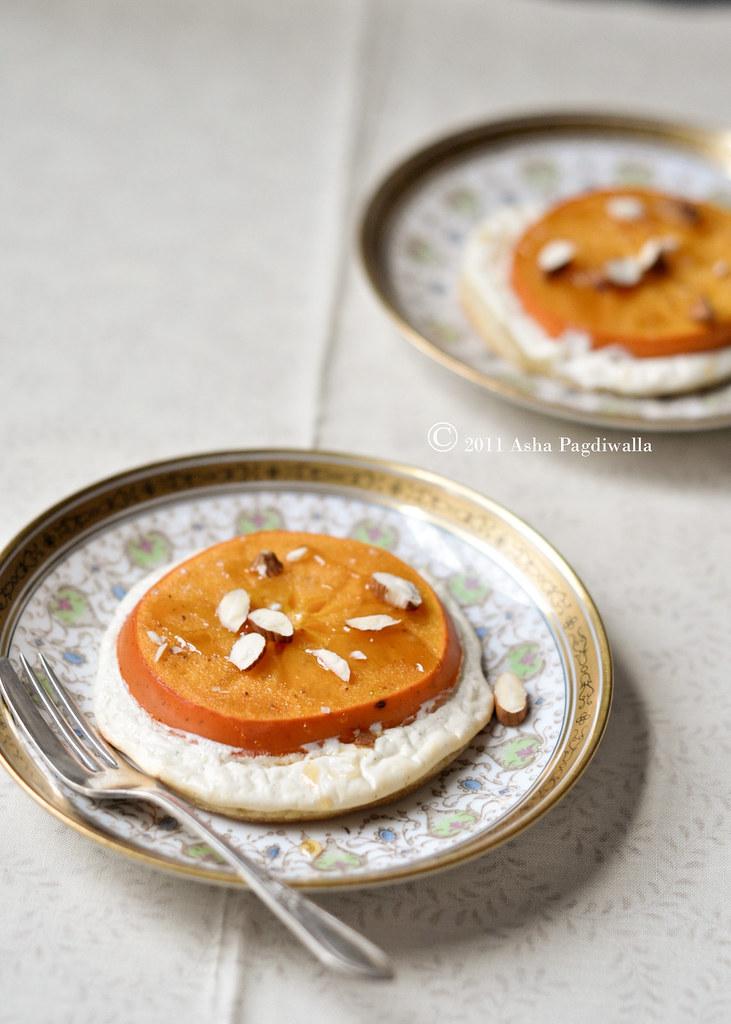 Persimmon Tartelettes