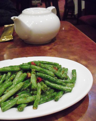 fried french beans @ pudong kitchen