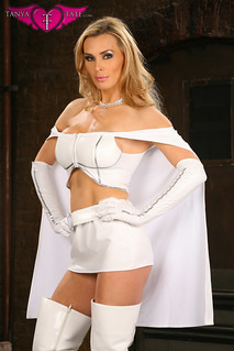 Tanya Tate™ As Emma Frost of the X-men Cosplay from JustaLottaTanya