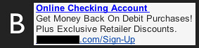 Online Checking Ad B