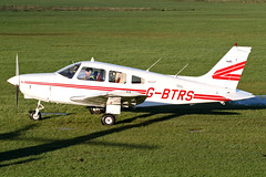G-BTRS - 1981 build Piper PA-28-161 Cherokee Archer II, Barton based
