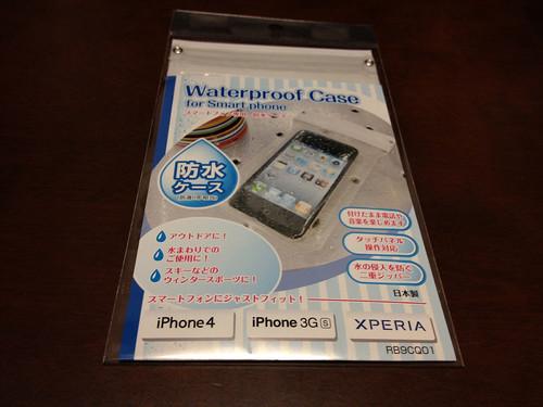 スマートフォン専用 防水ケース Waterproof Case