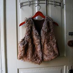 8 fur vest