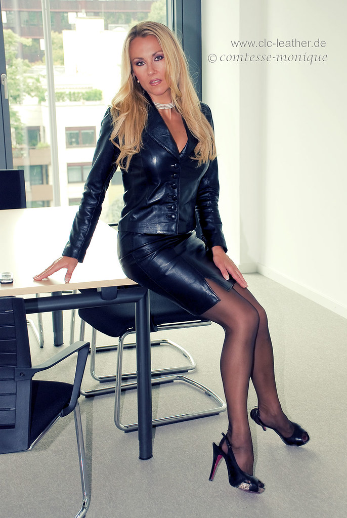milf in leather