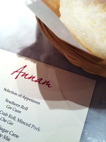 annam menu