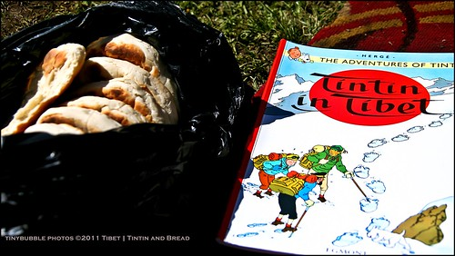 Tintin for breakfast