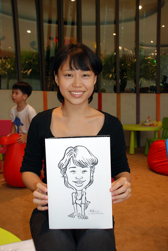 caricature live sketching for Forestque Residence (Wing Tai) - Day 1 - 21
