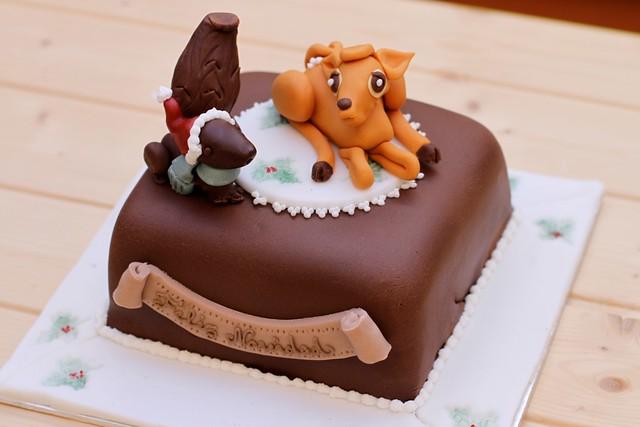 Tarta de Bambi