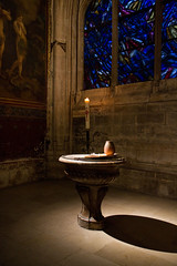 Baptismal Bath, St. Sevrin, Paris France