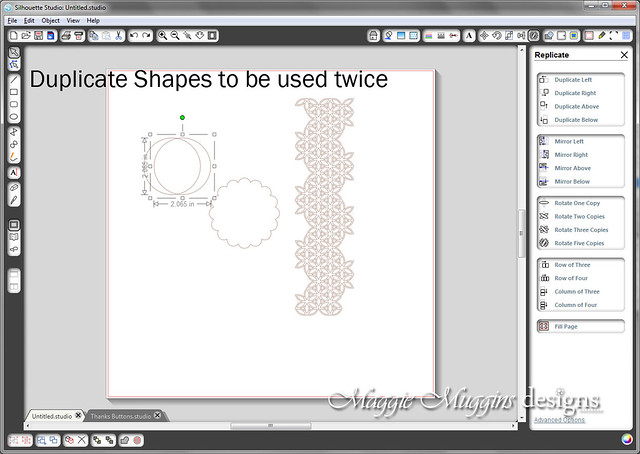 Make Silhouette Print and Cut Step 5