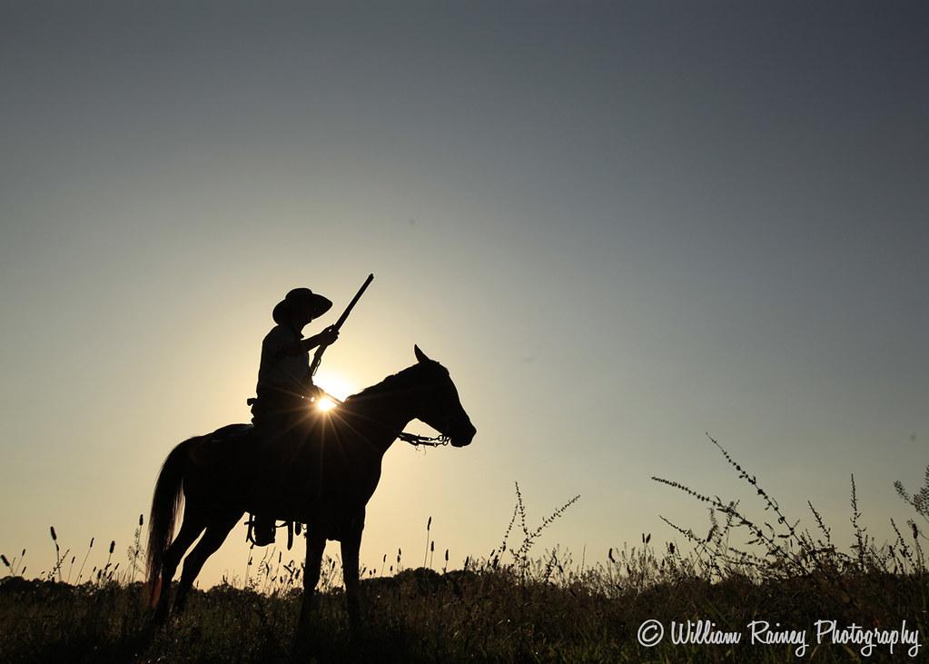 HORSE, COWBOY, WESTERN