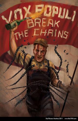 Bioshock Infinite Vox Populi Poster