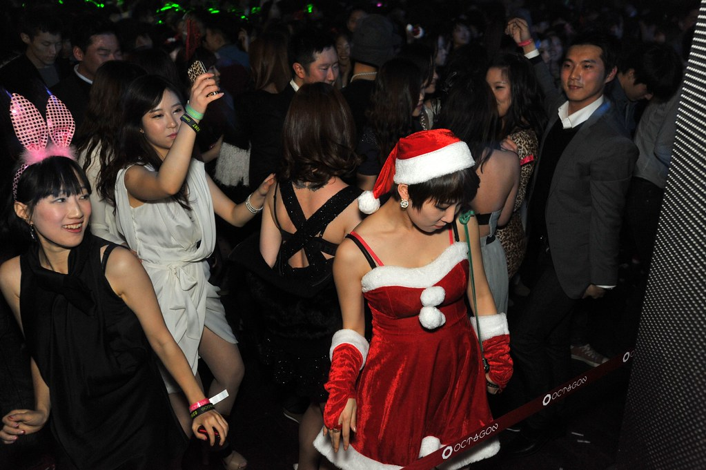 Christmas 2011 Party feat. D'JAMENCY @Club Octagon