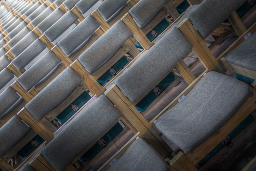 921/1000 - Chairs in Chester Cathedral by Mark Carline