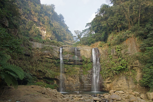 """Green Dragon"" waterfall and the Sky Ladder"