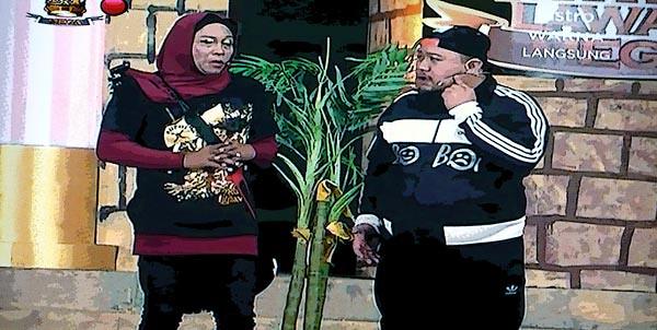 Aksi Boboi di Maharaja Lawak Mega Akhir