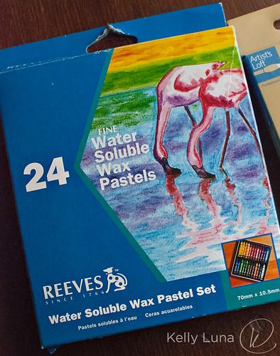 wax pastels