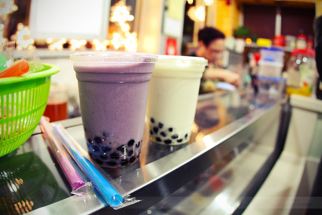 Taro & Almond Bubble Tea