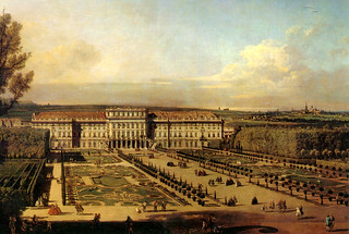 Vienna - Schönbrunn Palace, by Bellotto