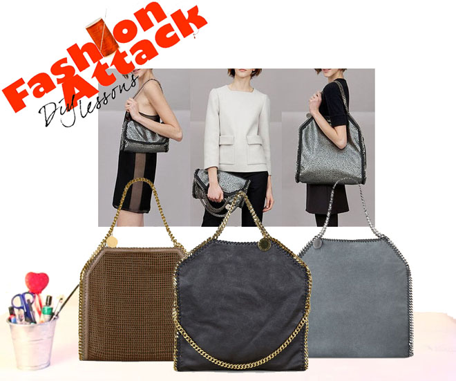 DIY stella McCartney Falabella bag