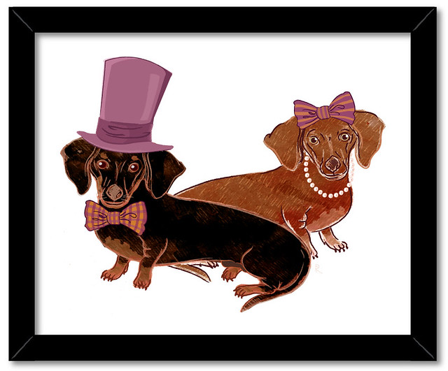 Mr. & Mrs. Dachshund