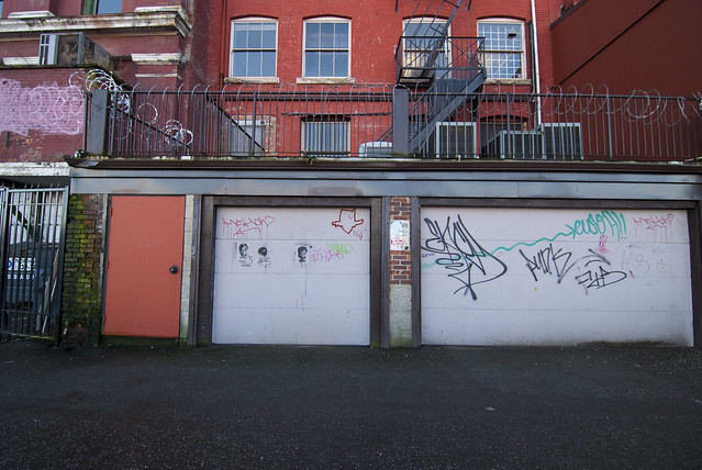 Graffiti in the Alley - Gastown