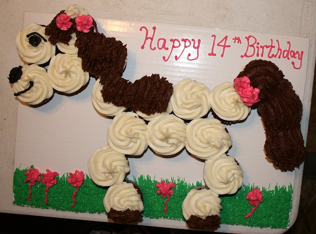 how to make horse cupcakes