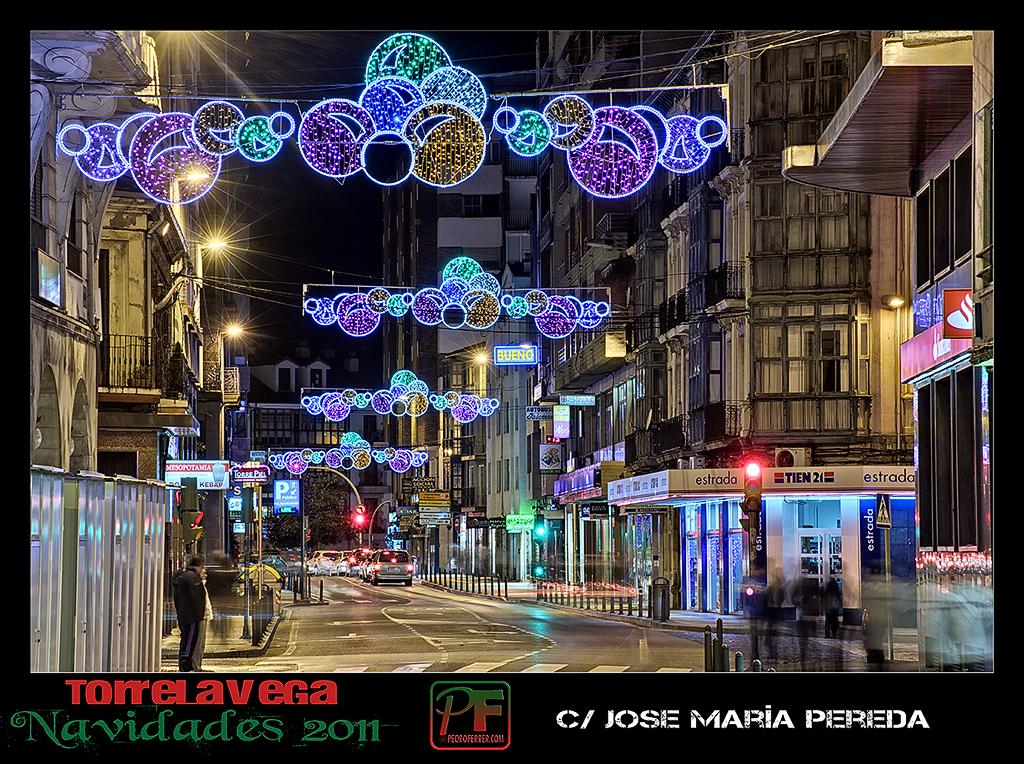 Torrelavega - Jose María Pereda  - Navidades 2011