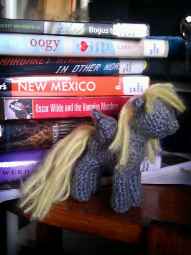 Derpy Hooves my little pony crochet - nearly finished!