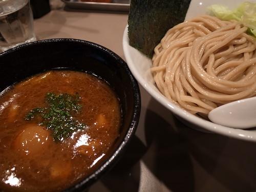 ra120106五ノ神製作所 海老つけ麺味玉入り