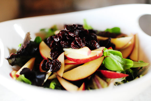 Apple, Pecan, and Blue Cheese Salad with Dried Cherries | The Pioneer ...