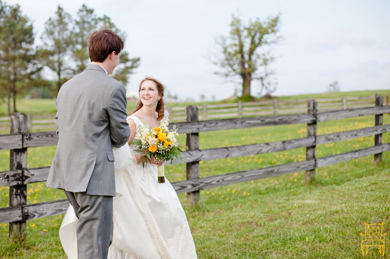 gray and yellow outdoor vintage wedding_056
